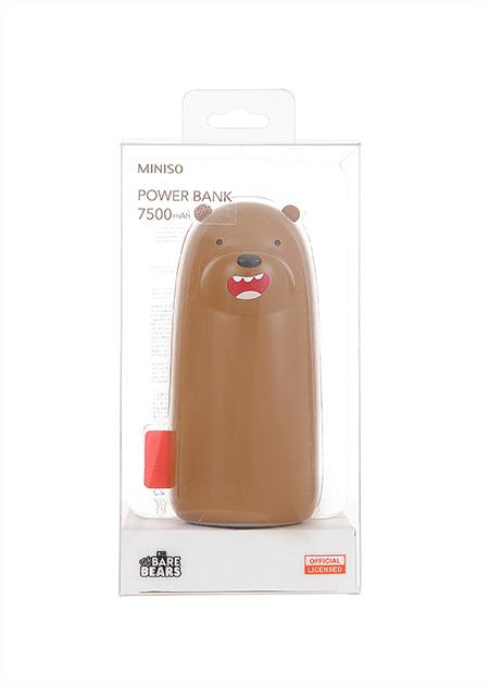 Akupank 7500mAH We Bare Bears (Grisli)