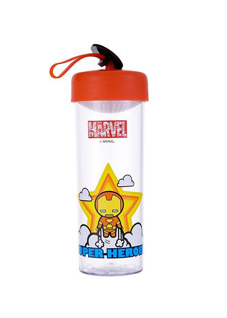 Joogipudel plast 450ml Marvel (Iron Man)