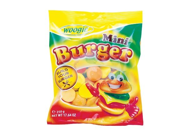 Kummikomm ''Burger Mini'' 250gr