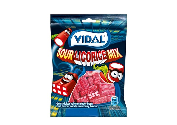 Kummikomm ''Sour licorice mix'' 100gr