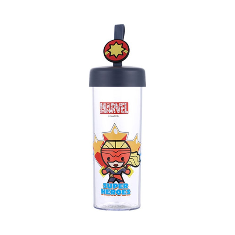 Joogipudel plast 450ml Marvel (Captain Marvel)