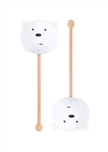 Massaazihaamer We Bare Bears (jääkaru) 34cm
